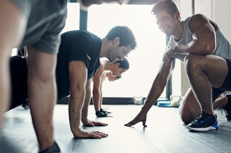 Training mit dir als Fitnesscoach